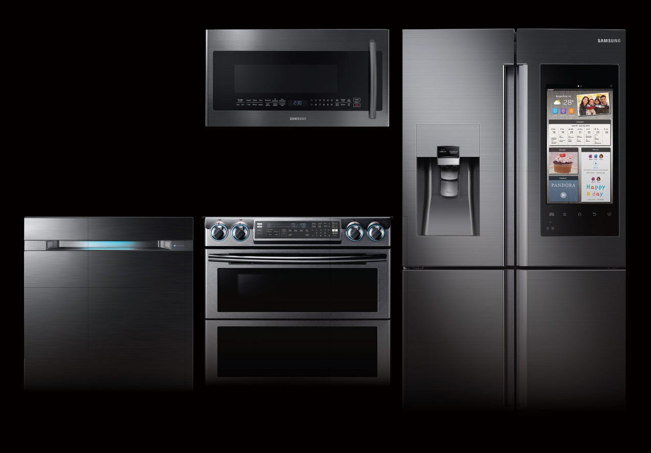 remarkable kitchen bundle to smart inspiring hub samsung on appliances family with appliance regard